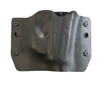 Picture of Bullseye Holster OWB Black RH SCCY CPX2 with Armalser TR10
