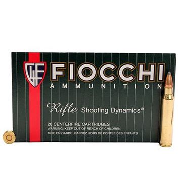 Picture of Fiocchi .223 Rem 55gr PSP Ammo -  Box of 20