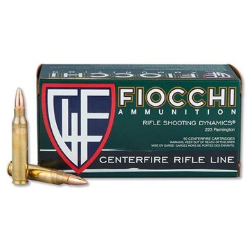 Picture of Fiocchi .223 Rem 62gr FMJBT  Box of 50