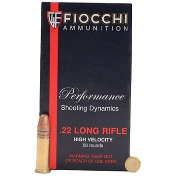 Picture of Fiocchi 22LR 40gr Copper Plated HP  Box of 50