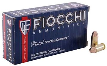 Picture of Fiocchi 45 ACP 230gr JHP Ammo -  Box of 50