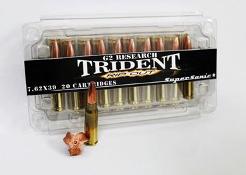Picture of G2 Research Trident 7.62x39 124gr. Ammo - Box of 20 rounds