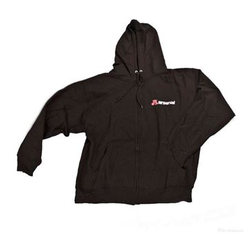 Picture of Hoodies, Black,Zipper Front with Arsenal Logo -