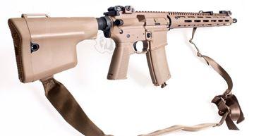 Picture of Troy SGM Lamb Carbine w/M-LOK Rail-Tan 5.56