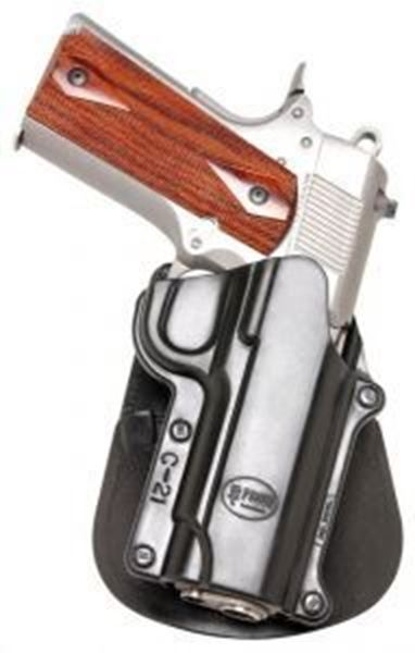 """Picture of 4""""/5"""" 1911 style(No Rail), S&W 945 - Paddle Holster"""