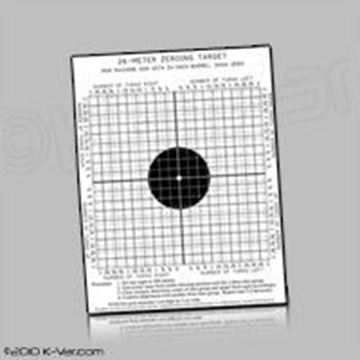 Picture of A pack of 30 targets for AK, AKS-74U, AK-102, RPK, and PKM. 6 targets of each type.