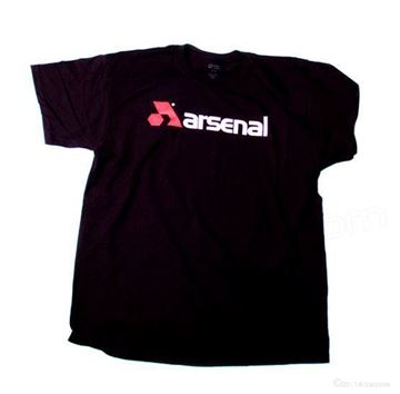 Picture of Arsenal T-Shirt- Black - X-Large