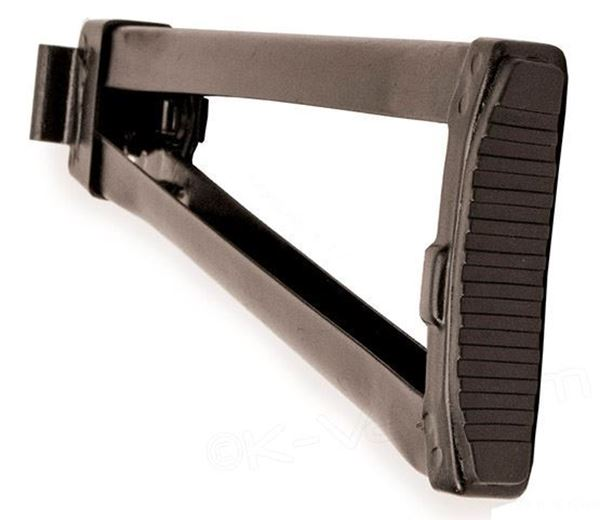 Picture of Arsenal Left Side Folding Mil Spec Buttstock with Rubber Pad