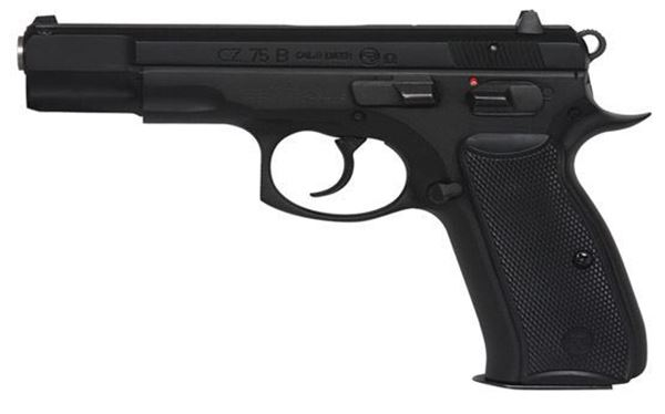 Picture of CZ 75B Omega 9mm Black 16rd- 91136