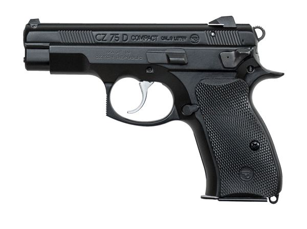 Picture of CZ75 D PCR Compact 9mm Black 14rd -91194
