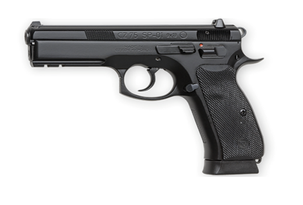 Picture of CZ75 SP01 9mm Black Night Sights 18rd - 91152