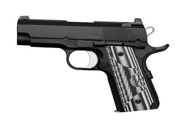 Picture of Dan Wesson ECO 9mm Black Single Action 8 Round Pistol