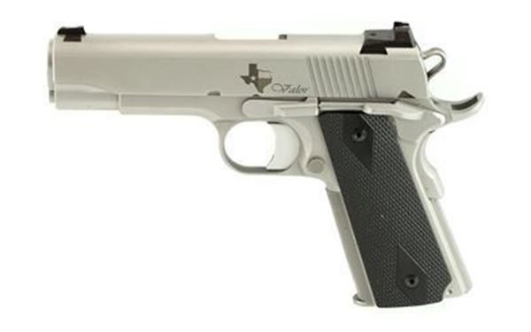 Picture of Dan Wesson Valor Texas Edition 1911 Commander 9mm Silver Semi-Automatic 8 Round Pistol