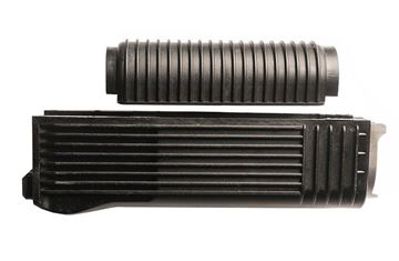 Picture of FIME Group RPK handguard set for RPK and Vepr rifles & shotguns, ribbed black polymer, US made