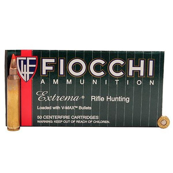Picture of Fiocchi Ammunition 204 Ruger 32 Grain Hornady V-Max 50 Round Box