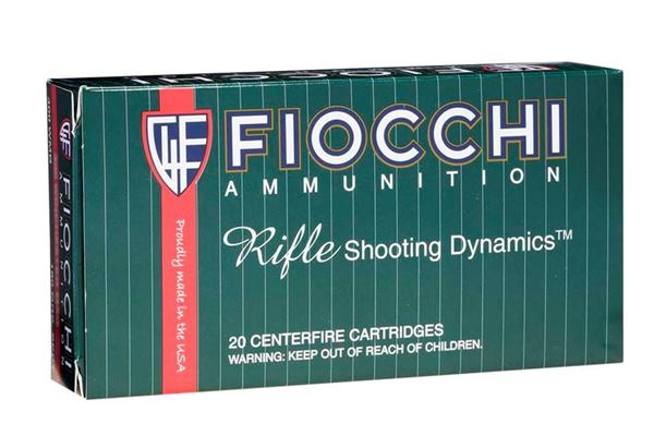 Picture of Fiocchi Ammunition 22-250 Rem 55 Grain Pointed Soft Point 20 Round Box