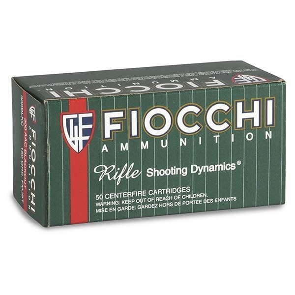 Picture of Fiocchi .300 AAC Blackout 150 Grain Ammo (Box of 50 Round)