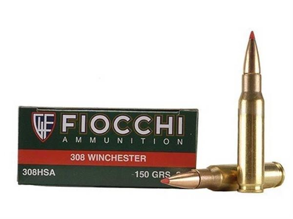 Picture of Fiocchi Ammunition 308 Win 150 Grain Hornady Super Shock Tip 20 Round Box
