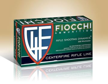 Picture of Fiocchi Ammunition 308 Win 150 Grain Pointed Soft Point 20 Round Box