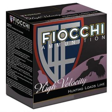Picture of Fiocchi 12 ga 2 3/4 1 1/4 6 Pellet Hi-Velocity Shells - Box of 25
