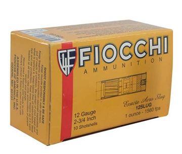 Picture of Fiocchi 12 ga 2 3/4 1oz Hi-Velocity Slug - Box of 10