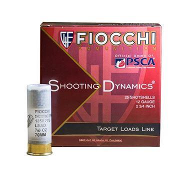 Picture of Fiocchi 12 ga 2 3/4 7/8 oz #8 1350 FPS - Box of 25