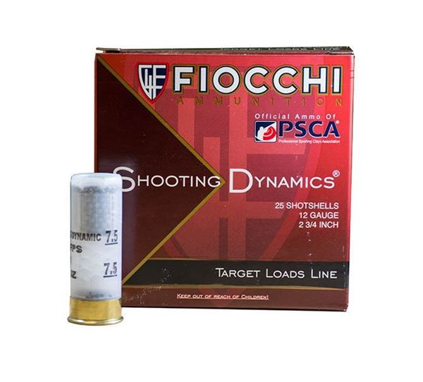 Picture of Fiocchi 12 Gauge Ammo 2 3/4 1 1/8oz #7.5 1200 FPS (10 Boxes of 25 Round)