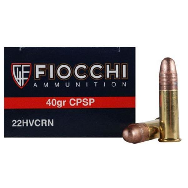 Picture of Fiocchi Shooting Dynamics Ammo .22 Long Rifle 40 Grain Copper Plated Solid Point (Box of 50)