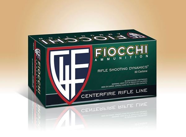 Picture of Fiocchi Ammunition 30 Carbine 100 Grain Full Metal Jacket Boat Tail 50 Round Box