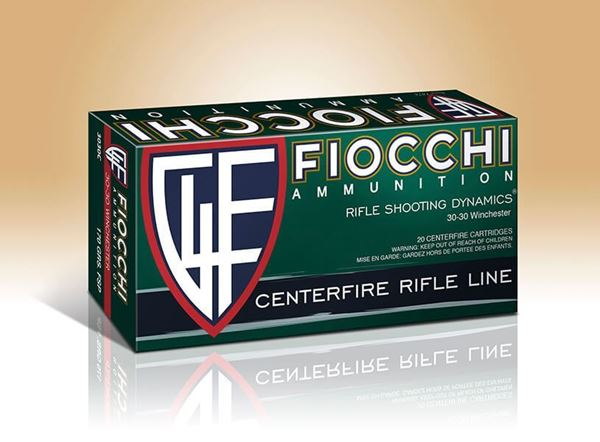 Picture of Fiocchi Ammunition 30-30 Win 170 Grain Flat Soft Point 20 Round Box
