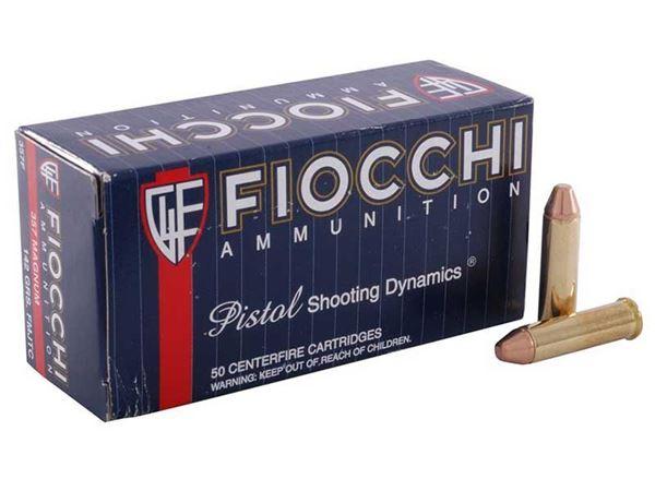 Picture of Fiocchi .357 Magnum 142 Grain FMJTC Ammo (Box of 50)