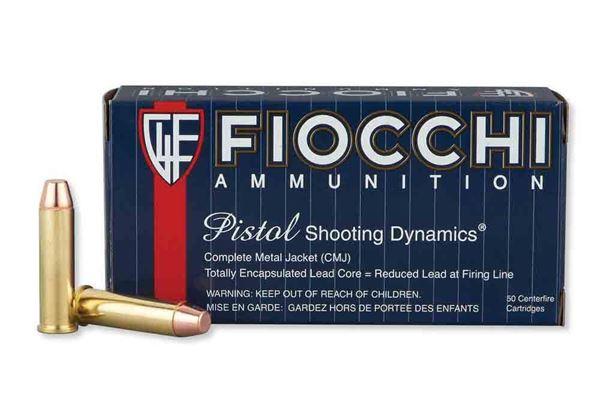 Picture of Fiocchi .357 Magnum 158 Grain CMJ FP Ammo (Box of 50 Round)