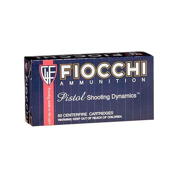 Picture of Fiocchi Ammunition 357 Magnum 158 Grain Jacketed Hollow Point 50 Round Box