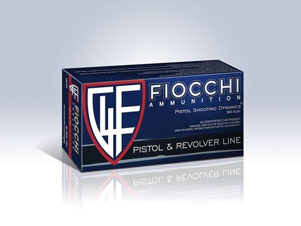 Picture of Fiocchi .380 Auto Pistol Shooting Dynamics 95 Grain FMJ Ammo (Box of 50 Round)