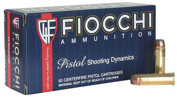 Picture of Fiocchi .44 Magnum 200 Grain CMJ Ammo (Box of 50 Round)