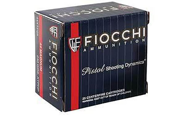 Picture of Fiocchi .44 Magnum 240 Grain XTP Hollow Point Ammo (Box of 25 Round)