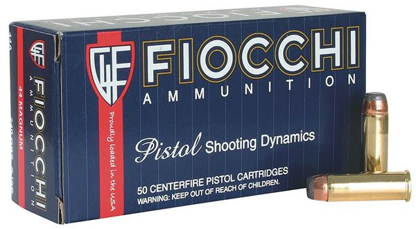 Picture of Fiocchi .44 Magnum 240 Grain Jacketed Hollow Point  Ammo (Box of 50 Round)