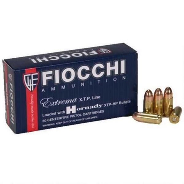 Picture of Fiocchi Ammunition 9mm 115 Grain Jacketed Hollow Point 25 Round Box