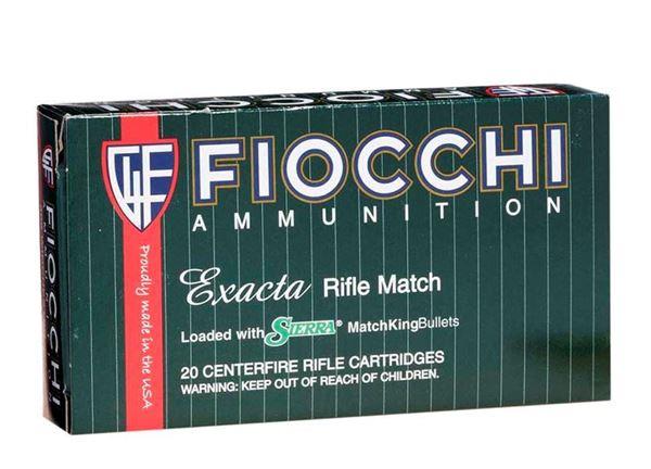 Picture of Fiocchi Exacta .223 Remington 69 Grain SMK BTHP Ammo (Box of 20 Round)