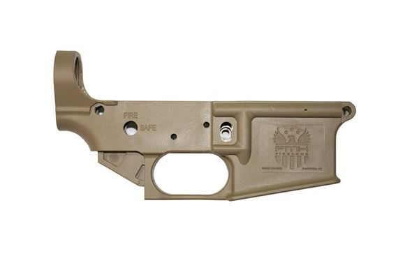 Picture of FMK AR-1 Extreme AR-15 Multi Caliber Polymer Lower Receiver Dark Earth