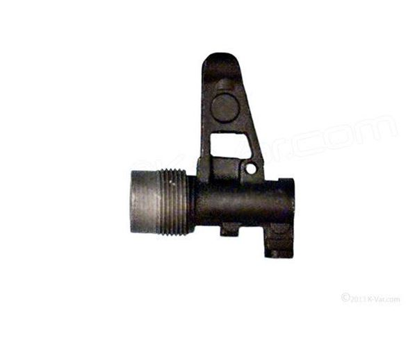 Picture of Arsenal AK Front Sight Block Assembly with 24x1.5mm Right Hand Threads and Bayonet Lug