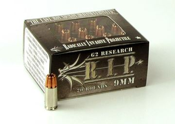 Picture of G2 Research 9mm 92gr. R.I.P. Ammo - Box of 20 rounds
