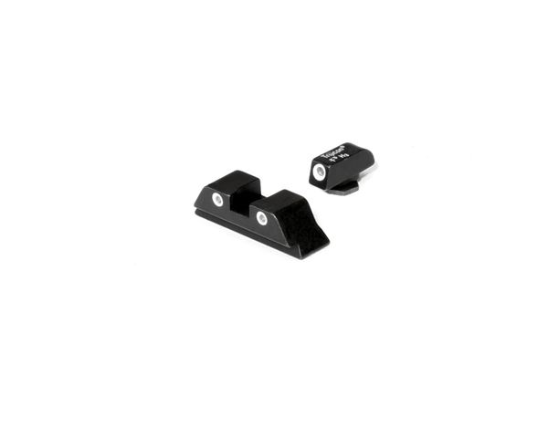 Picture of Glock 3 Dot Night Sight Set for Calibers 9mm, .40, .45 G.A.P., .357, and .380