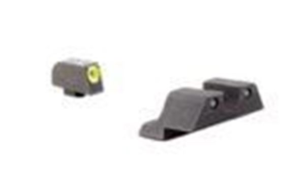 Picture of Trijicon 600540 GL101Y HD™ Night Sight Set - Yellow Front Outline - for Glock  Pistols