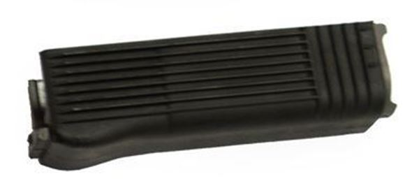 Picture of Arsenal Black Polymer Ribbed Lower Handguard with Stainless Steel Heat Shield for Light Machine Gun Milled Receivers