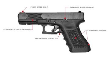 Picture of Head Down Custom Glock 19