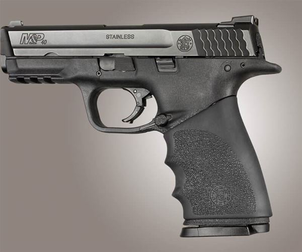 Picture of Hogue Hand All Beaver Tail S&W M&P Shield, Ruger LC9, Glock 26/27 - Black