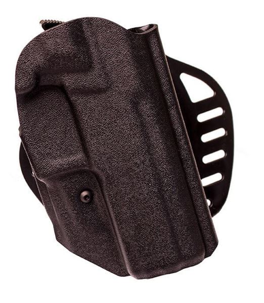 Picture of Hogue Left Hand OWB Holster for the Rex Zero 1S Pistol - Black