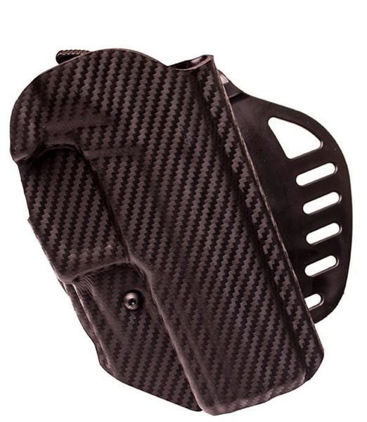 Picture of Hogue Left Hand OWB Holster for the Rex Zero 1S Pistol - CF Weave