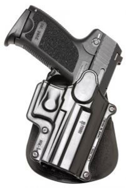 Picture of Fobus Holster for Ruger SR9, SR9C/H&K USP Compact: 9mm, .40, .45 cal, & Full Size: 9mm/.40 (NOT .45)